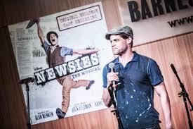 coverage newsies cast performs at barnes u0026 noble