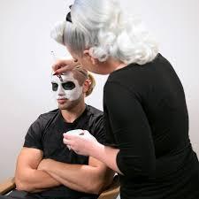 go behind the scenes of wwe u0027s halloween makeup tutorials photos wwe