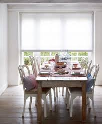 dining room chairs with rollers rolgordijn wit rolgordijnen pinterest shabby chic style