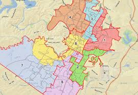 Map Austin by Austin Board Approves New Voting Map Kut