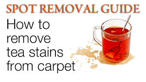 how to remove tea stains from carpet remove tea stains on carpet