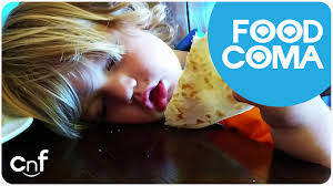 thanksgiving food baby five phases of a food coma thanksgiving dinner for cuties youtube