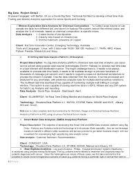Data Analyst Sample Resume by Download Big Data Resume Haadyaooverbayresort Com