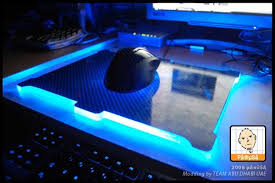 light up gaming mouse pad diy glowing mouse pad