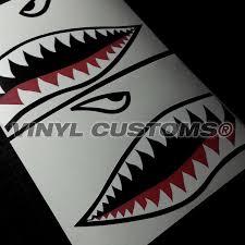 vinyl wedding invitations flying tigers vinyl decal sticker shark teeth hobby ww2