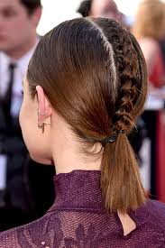 plait at back of head hairstyle you have to see lucy hale s braided hairstyle beauty crew