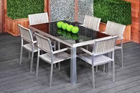 Modern Aluminum Outdoor Furniture by Ultra Modern Aluminum Patio Dining Furniture U2013 The Modern Dining