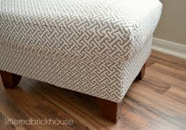 Upholstering An Ottoman Furniture Makeover How To Reupholster An Ottoman