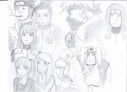 naruto character sketches by winry246artist on deviantart