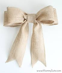 ribbon bow diy burlap bow tutorial suite