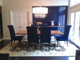 blue dining room table chair cute navy dining room walls brilliant blue dining room