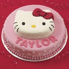 birthday cakes images beautiful girly kitty birthday cake