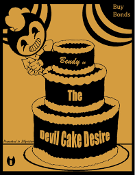 bendy in the devil cake desire by mad hatter ison on deviantart