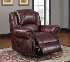 Microfiber Swivel Chair by Homelegance Quinn Reclining Sofa Set Burgundy Polished