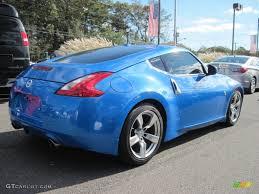 nissan 370z custom blue monterey blue 2009 nissan 370z coupe exterior photo 55619190