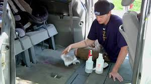 auto detailing how to get rid of vomit smell in a car youtube