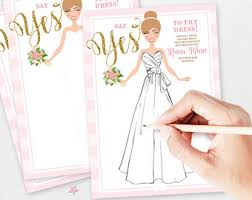 Wedding Dresses Games Guess The Dress Game Etsy