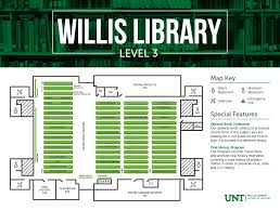 Find Floor Plans By Address Locations U0026 Hours University Of North Texas Libraries