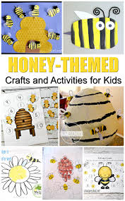 20 honeybee activities and crafts for national honey month this