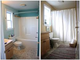 Before After Bathroom Makeovers - bathroom awesome small bathroom remodel before and after 5x8