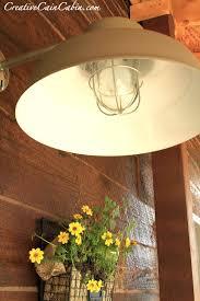 Cabin Light Fixtures by Barn Light On The Cheap Creative Cain Cabin
