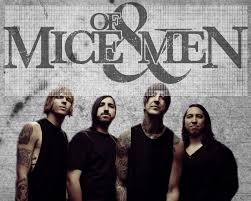 men band of mice and men band 2014 wallpaper