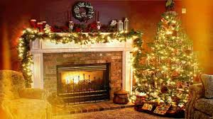 tree ornaments gifts download christmas fireplace background hd