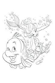 Coloriages Ariel Princesse La Petite Jeux De Coloriage Princesse