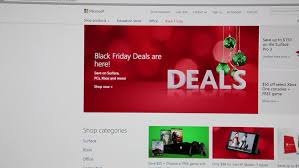surface pro 3 black friday moscow russia circa dec 2014 black friday is in amazone com