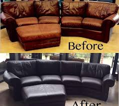 Recovering Leather Sofa How To Recover A Leather Sofa With Fabric Catosfera Net