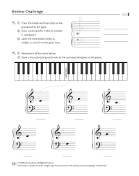 printables u0026 audio for piano unit two lessons 21 40 hoffman academy
