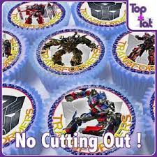 transformers cake toppers transformers cake topper ebay