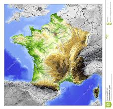 Political Map Of France by Filefrance Relief Location Map South East Highlightedpng France