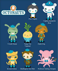 nice octonauts cutting files for silhouette cameo or cricut