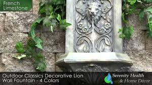 outdoor wall fountain garden landscaping water features waterfall
