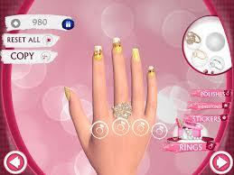 nail art nail salon games for girls free online play elsa