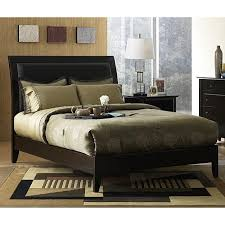 California King Sleigh Bed Padded Synthetic Leather California King Size Sleigh Bed Free