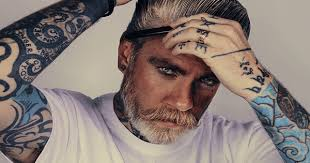 Old Man Tattoo Meme - 15 shades of grey the hottest male silver foxes