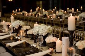 hydrangea wedding centerpieces centerpieces white hydrangea and candles elizabeth designs