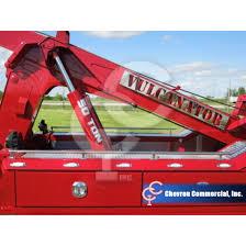kenworth heavy spec t800 sleeper w vulcan v100 heavy wrecker
