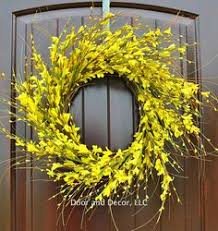 whimsical spring forsythia wreath jenna burger spring wreath for front door yellow door wreath crafts diy