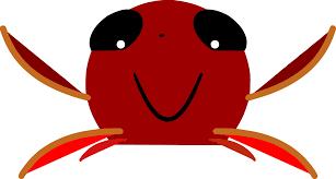 carl the crab clip art at clker com vector clip art online