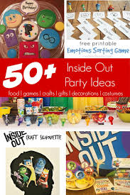 inside out party 50 inside out party ideas insideout my