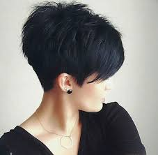 short hair with length at the nape of the neck how to grow a pixie into a bob when you have cowlicks beautyeditor