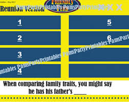 christmas family feud printable game christmas family