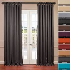 Halfpriced Drapes Half Price Drapes Boch 201403 96 Dw Doublewide Blackout Curtain