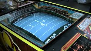roller ball table top 239 atari football x s and o s arcade video game cocktail table