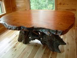 burl wood dining room table rustic table live edge table wood table littlebranch farm