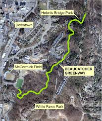 Map Of Asheville Nc Beaucatcher Greenway Gets Nod From Council For Construction