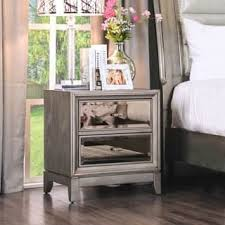 Nightstands With Mirrored Drawers Nightstands U0026 Bedside Tables Shop The Best Deals For Nov 2017